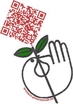QR-Code rose for www.emmaus-gewerkschaft.de #qrart