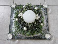 Adventstuk ((bloemschikken-kerst))