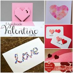 5 Handmade Valentine Cards (and how they can make a difference)