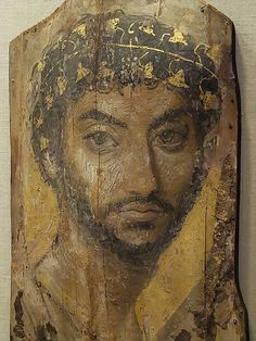 Fayum portrait - non-indigenous Egyptians / Africans but instead from Graeco-Roman occupations