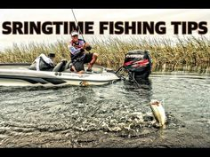 How to fish in the spring for BIG BASS. Instructional bass fishing tips - YouTube