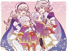 Fire Emblem    Robins and Corrins   キリヤ (@kiriya228)   Twitter