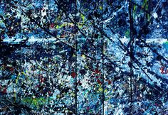 Jackson Pollock #1 ♥ I love this 'work of art'! I thought it was a Jackson Pollock painting but apparently it is from the sub-floors where he worked. It's much better than his actual work, in my opinion.