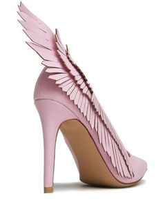 The Angyl Pumps By Y.R.U Feature an Ususual Bird-Like Design #heels trendhunter.com