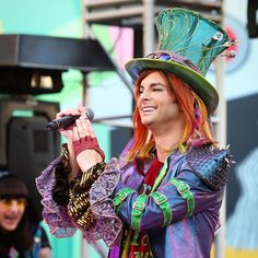 From today's first set. #MadHatter #MadTParty #MadTPartyBand #AliceInWonderland #DisneyCaliforniaAdventure #DCA #CaliforniaAdventure #Disneyland #Disneyland60 #DisneySide by dlr_dslr