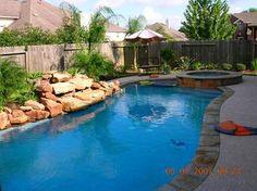 small backyard pools | backyard pool design