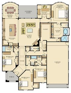 Victoria New Home Plan in Woodtrace: Classic and Kingston Collections by Lennar