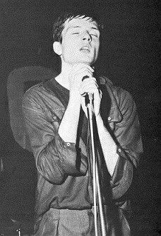 Ian Curtis Joy Division 1979. Curtis performing with Joy Division at the Mayflower in Manchester in 1979 Born 15 July 1956 Stretford, Lancashire, England