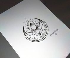 Lotus with sun and moon tattoo design and stencil – insta … – Tattoo Designs Trendy Tattoos, Cute Tattoos, New Tattoos, Body Art Tattoos, Tribal Tattoos, Geometric Tattoos, Geometric Sleeve, Gorgeous Tattoos, Tattoos For Your Son