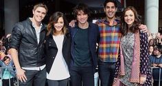 Kyle, Phoebe, Josh, Andy and Sasha