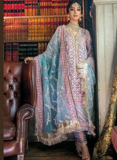 Pakistani Fancy Dresses, Pakistani Dress Design, Pakistani Outfits, Indian Dresses, Shadi Dresses, Net Dresses, Pakistani Couture, Indian Couture, Party Dresses