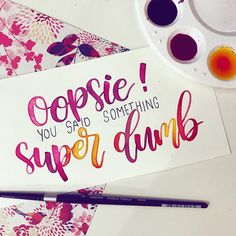 I LOVE Gina Linetti from Brooklyn 99 and I can relate to this quote so much @chelsanity @brooklyn99fox @dailybrooklyn99 . . . . #lettering #handlettering #letteringdesign #fauxcalligraphy #dailylettering #letteringart #typography #colourful