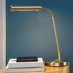 Belid Piano Polished brass Table Lamp