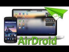 AirDroid ► Contrôler son SmartPhone Android à distance avec son PC