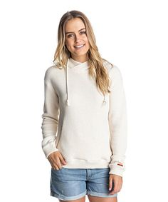 Look at this White Great Vibes Hoodie on #zulily today!