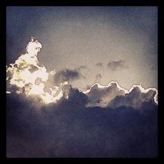 Seduto sulle nuvole!