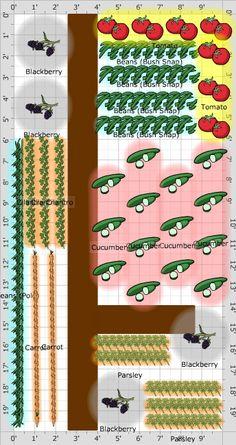 how to plan a garden plot