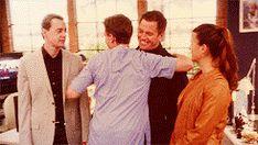 Love group hugs on NCIS