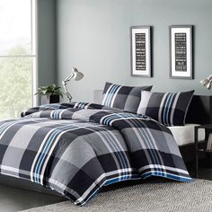 INK+IVY Nathan 3-piece Comforter Set - Overstock™ Shopping - Great Deals on Ink and Ivy Comforter Sets