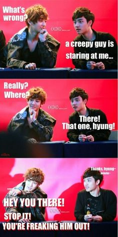 Chansoo moment ^,^