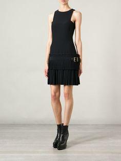 ALEXANDER MCQUEEN pleated skirt dress