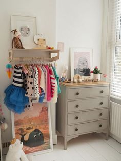 My daughter's bedroom makeover small toddlers room decor Girls Bedroom, Girl Room, Baby Room, Kid Bedrooms, Small Toddler Rooms, Toddler Room Decor, Playroom Decor, Vintage Bedroom Decor, Old Room