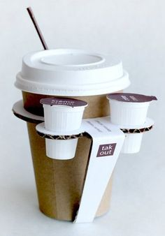 Take Out Coffee Cup #packaging