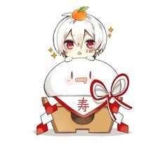 Embedded Chibi Boy, Cute Anime Chibi, Manga Cute, Fan Anime, Anime Art, Anime Cosplay, Anime Tentacle, Vocaloid, Anime Kunst
