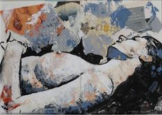 "Saatchi Art Artist Ulku Yilmaz; Painting, ""Asleep"" #art"