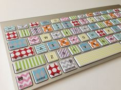 Washi TapeInspired iMac MacBook Pro and MacBook by simplyvinyl345, $20.00