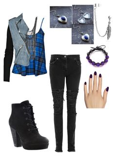 1.4 by hope2002 on Polyvore featuring polyvore, fashion, style, Alexander Wang, Christopher Kane, Steve Madden, Lazuli, Shamballa Jewels, Friis & Company, Bling Jewelry, Static Nails and clothing