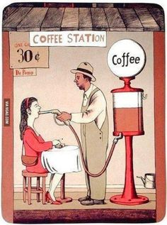 Caffee Station -Love it Coffee Talk, Coffee Is Life, I Love Coffee, Coffee Break, My Coffee, Morning Coffee, Coffee Cups, Coffee Lovers, Funny Coffee