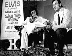 1972 9 04  presse conférence  au Hiltonn Las Vegas  ou il anonce le Concert Aloha From Hawaii