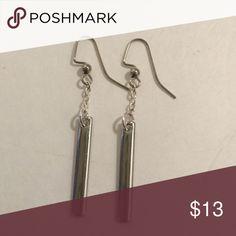 Dangle bar earrings Silver color dangle earrings. Daffodil90 Jewelry Earrings