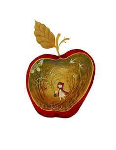 Little Red Riding Hood. An illustration that I just finished. - By Elisita @ Flickr