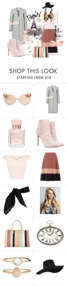 """I love Paris in the Fall (2)"" by luanna98 ❤ liked on Polyvore featuring Linda Farrow, Elliatt, Maison Francis Kurkdjian, TC Fine Intimates, River Island, Zentique, Accessorize, San Diego Hat Co., Fall and paris"