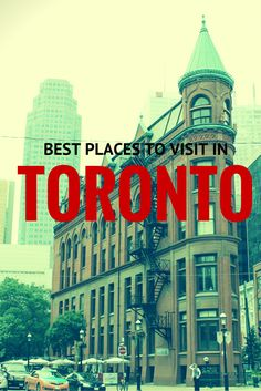 Best Places to Visit in Toronto, Canada. The Places Youll Go, Cool Places To Visit, Places To Travel, Places To Go, Ontario Travel, Toronto Travel, Visitar Canada, Canada Destinations, Canadian Travel