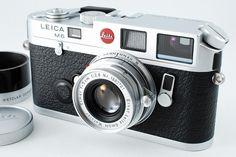 NR Mint Leica M6 35mm Rangefinder Camera Silver w Elmar 50mm F2 8 | eBay