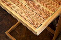 Pine Side Table/Writing Desk