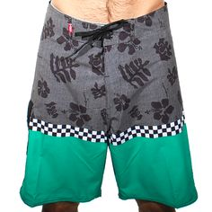 40b92c3887a409 Vans Off The Wall Boardshorts (Simply Green)  57.95