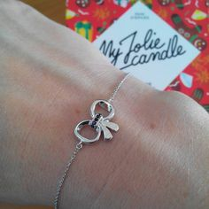 Joli #bracelet #noeud #silver #bijou #bougie #myjoliecandle #girl
