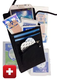 Going anywhere for a long Walk? Smart protection with rfid and take everything with you, like mobile, cards and patches.