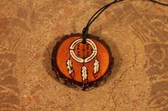"""Nahko and Medicine for the People Dream Catcher Wood Burned Necklace - """"I believe in the good things coming"""" by allysonanthony on Etsy https://www.etsy.com/listing/495788933/nahko-and-medicine-for-the-people-dream"""