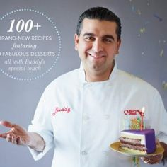 Family Celebrations with the Cake Boss: Recipes for Get-Togethers Throughout the Year by Buddy Valastro, PDF, ISBN: 1451674333 Cake Boss Buddy, Buddy Valastro, Bolos Cake Boss, Tlc Tv, Cake Boss Recipes, Carlos Bakery, Chocolate Decorations, Chocolate Shavings, New Cookbooks