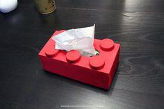 Tissue box Lego DIY Diy Lego, Tissue Boxes, Facial Tissue, Container, Homemade, Kids, Images, Couture, Crochet