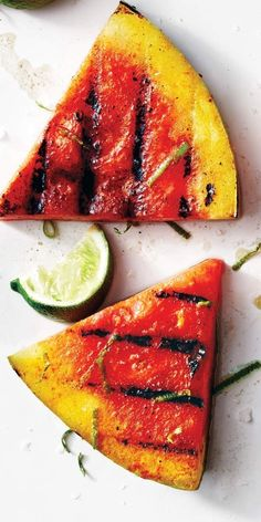 If you don't have a grill, you can always just sprinkle the seasoning on raw watermelon. The result will be just as delicious! | Health.com