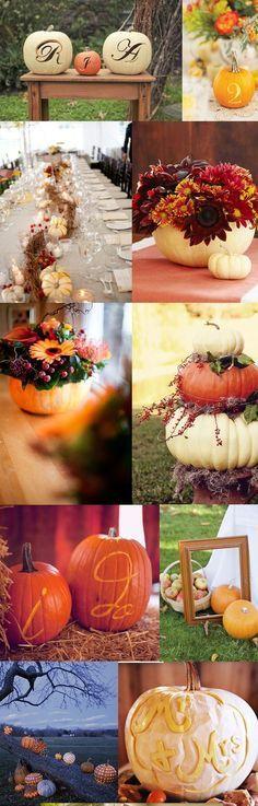 ✹ Hochzeitsmotto 2020 ✹ Unique Touches for Your Autumn Wedding - white pumpkins only 2020 - hochzeit Wedding Centerpieces, Wedding Table, Rustic Wedding, Our Wedding, Dream Wedding, Wedding Decorations, Wedding White, Trendy Wedding, Fall Decorations