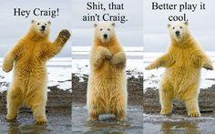 Dancing Polar Bear!