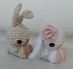 Spring Bunnies Amigurumi Crochet