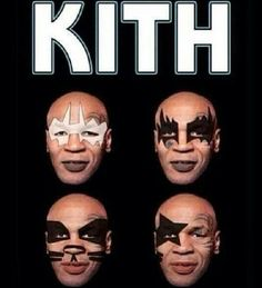 Kith - Mike Tyson - KISS - I Was Made for Lovin' You Rock And Roll All Nite I Wanna Rock and Roll All Night Detroit Rock City Beth Forever Strutter Love Gun New York Groove God Gave Rock and Roll 2 You - Kiss Army - make up - Music - Hard Rock